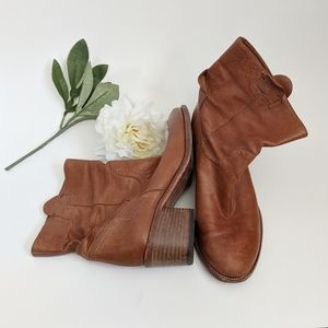 (Alberto Fermani) AF Brown Leather Boots 38